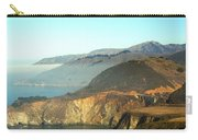 Highway One Bixby Bridge Close Carry-all Pouch by Barbara Snyder