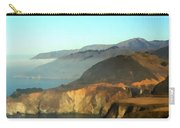 Highway One Bixby Bridge Watercolor Carry-all Pouch