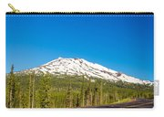 Highway Passing By Mountain Carry-all Pouch