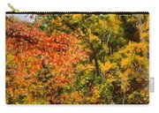 Hiking In Autumn Carry-all Pouch