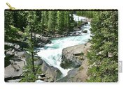 Hiking In Mistaya Canyon Along Icefield Parkway In Alberta Carry-all Pouch