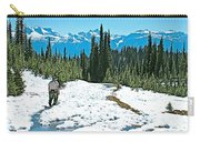 Hiking In Spring In Revelstoke National Park-british Columbia  Carry-all Pouch