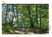 Hiking In Virginia Kendall Carry-all Pouch by Kristin Elmquist