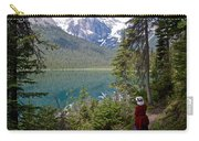 Hiking On Emerald Lake Trail In Yoho Np-bc Carry-all Pouch