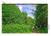 Hiking Trail Along Rivier Du Nord In The Laurentians North Of Montreal-qc Carry-all Pouch