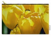 Hill Of Golden Tulips Carry-all Pouch
