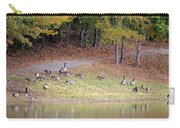 Hillside Of Canadian Geese Carry-all Pouch