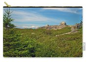 Hillside View Of Swissair Flight 111 Memorial In Whalesback-ns Carry-all Pouch