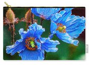 Himalayan Blue Poppy Flower Carry-all Pouch