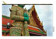 Hindu Figure At Grand Palace Of Thailand In Bangkok Carry-all Pouch