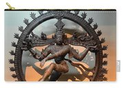 Hindu Statue Of Shiva In Nataraja Dance Pose Carry-all Pouch