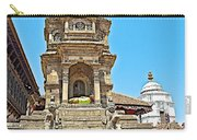 Hindu Temples In Bhaktapur Durbar Square In Bhaktapur-nepal Carry-all Pouch