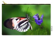 Hint Of Red Butterfly Carry-all Pouch