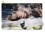 Hippo And Friend Carry-all Pouch
