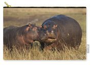 Hippo Cow And Calf Carry-all Pouch