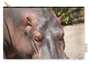 Hippo Hair 1 Carry-all Pouch