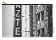 Historic Aztec Theater Carry-all Pouch