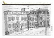 Historic Catskill Street Carry-all Pouch