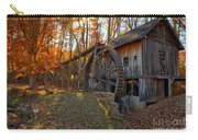 Historic Grist Mill With Fall Foliage Carry-all Pouch