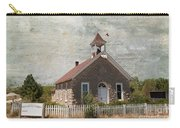 Historic Hinerville School  House  Carry-all Pouch