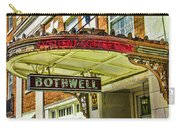 Historic Hotel Bothwell Carry-all Pouch