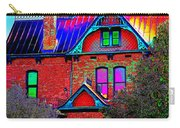 Historic House Pop Art Carry-all Pouch
