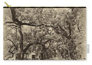 Historic Lane Antique Sepia Carry-all Pouch by Steve Harrington