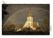 Historic Methodist Church In Rainbow Light Carry-all Pouch
