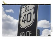 Historic Route Us 40 Sign Carry-all Pouch