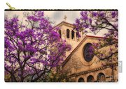 Historic Sierra Madre Congregational Church Among The Purple Jacaranda Trees  Carry-all Pouch