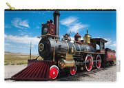 Historic Steam Locomotive - Promontory Point Carry-all Pouch