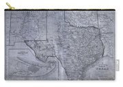 Historic Texas Map Carry-all Pouch