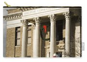 Historical Athens Alabama Courthouse Christmas Carry-all Pouch