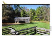 Historical Cantilever Barn At Cades Cove Tennessee Carry-all Pouch by Kathy Clark