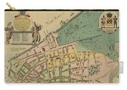 Historical Manhattan Map 1728 Carry-all Pouch