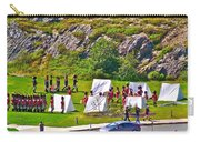Historical Reenactment Near Visitor's Center In Signal Hill National Historic Site In St. John's-nl Carry-all Pouch