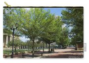 Lincoln Square Springfield Il - Luther Fine Art Carry-all Pouch