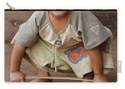 Hmong Boy Carry-all Pouch by Adam Romanowicz