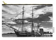 Hms Bounty Singer Island Carry-all Pouch by Debra and Dave Vanderlaan