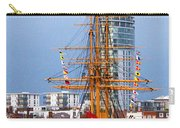 Hms Warrior Portsmouth Carry-all Pouch
