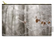 Hoar Frost Carry-all Pouch by Anne Gilbert