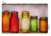 Hobby - Jars - I'm A Jar-aholic  Carry-all Pouch by Mike Savad
