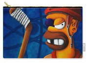 Hockey Homer Carry-all Pouch by Marlon Huynh