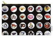 Hockey League Logos Bottle Caps Carry-all Pouch