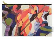 Hockey Players Carry-all Pouch by Ernst Ludwig Kirchner