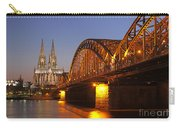Hohenzollernbrucke In Cologne Carry-all Pouch