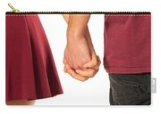 Holding Hands Carry-all Pouch by Carlos Caetano