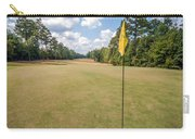 Hole Flag At A Golf Course Carry-all Pouch