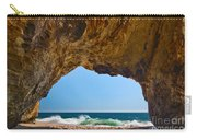 Hole In The Wall - Natural Tunnel In Santa Cruz Carry-all Pouch
