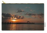 Holgate Bay Sunset Carry-all Pouch